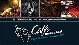 Cafe Music School Yearbook