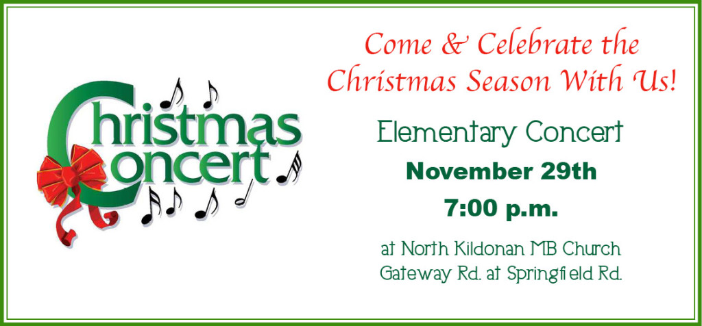 Christmas Concert photoslider elementary